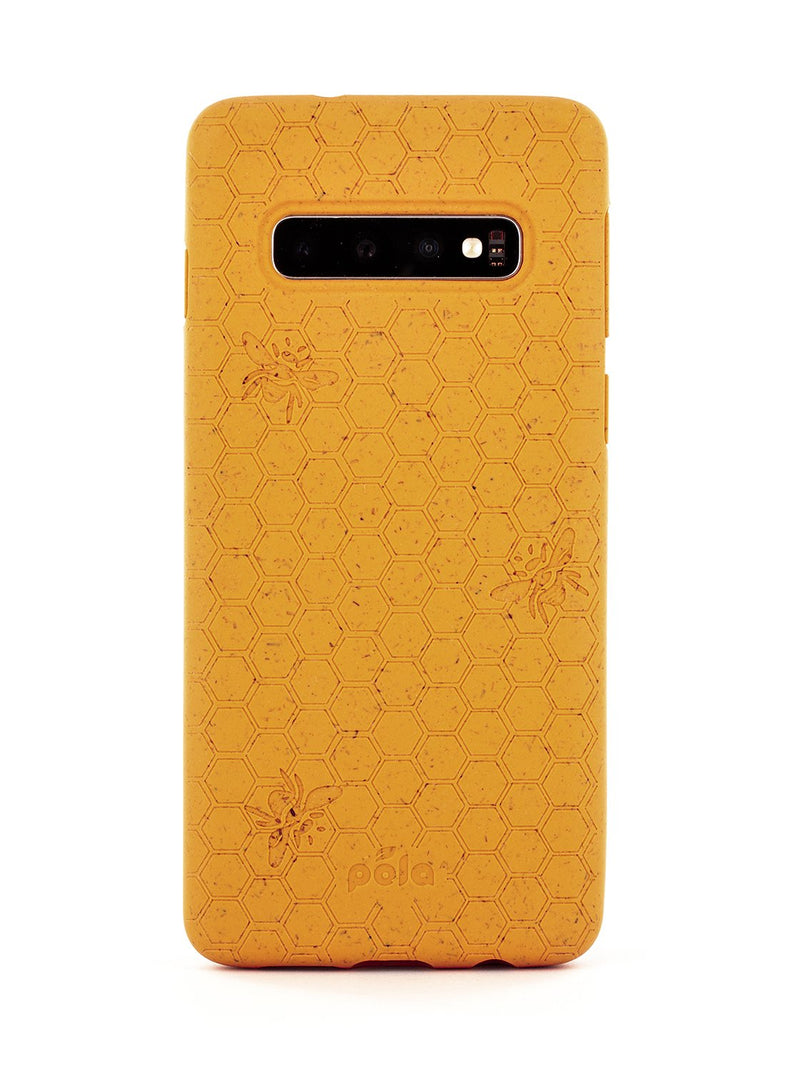 Limited Edition Pela Eco-friendly Case for Samsung S10 Plus - Honey Bee