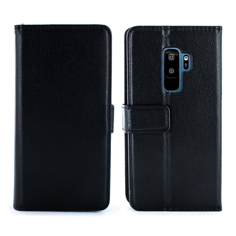 Samsung Galaxy S9 Plus Folio Case - Black