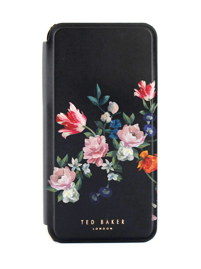 Ted Baker Mirror Case for iPhone  SE 2020 / 8 / 7 - Sandalwood / Black Silver