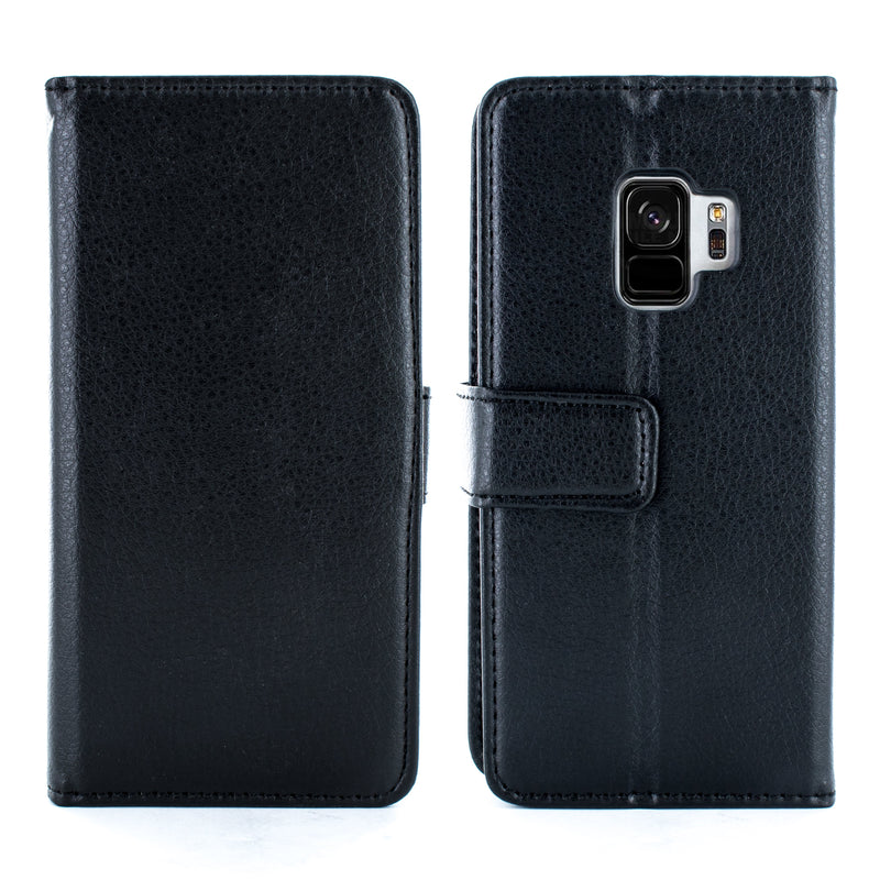 Samsung Galaxy S9 Folio Case - Black