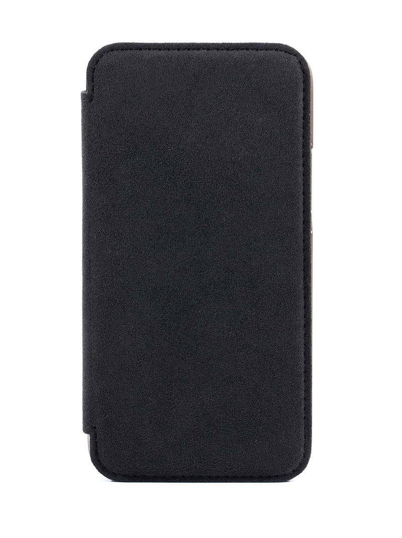 Greenwich BLAKE Alcantara Magsafe Case for iPhone 12 - Beluga (Black)