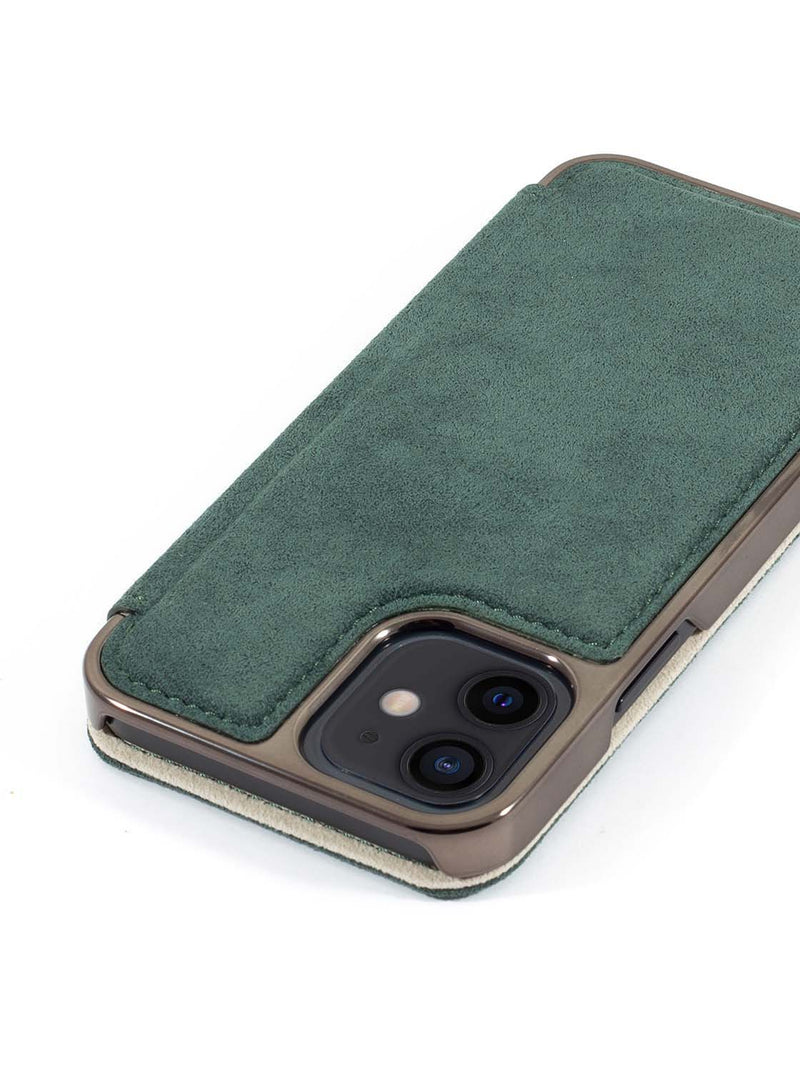 Greenwich BLAKE MagSafe Alcantara Case for iPhone 12 - Sage (Green)