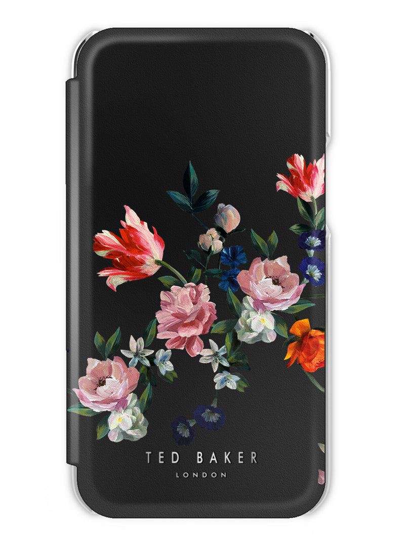 Ted Baker MagSafe Mirror Case for iPhone 12 - Sandalwood / Black Silver