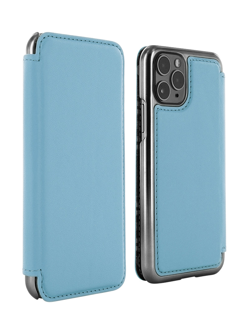 Greenwich BLAKE Leather Case for iPhone 11 Pro Max - Tahiti (Blue)