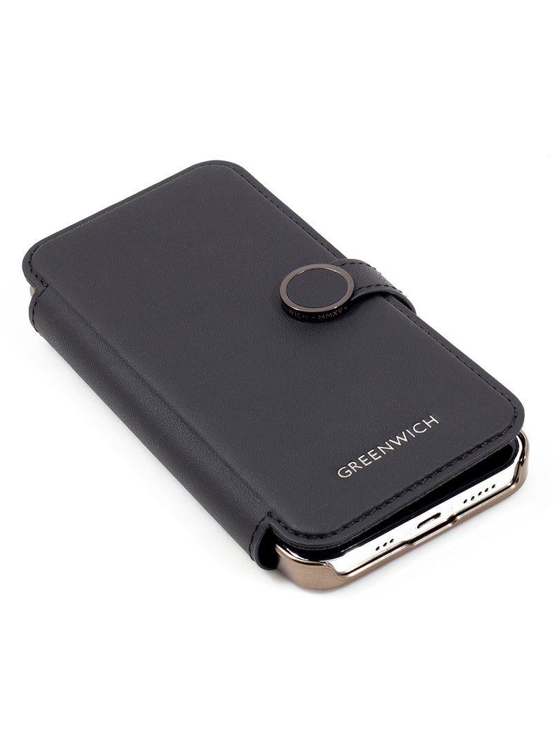 Greenwich OXFORD MagSafe Leather Case for iPhone 12 Pro Max - Beluga