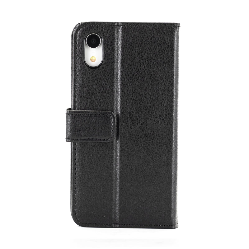 Proporta iPhone XR Leather Effect Folio Phone Case - Black