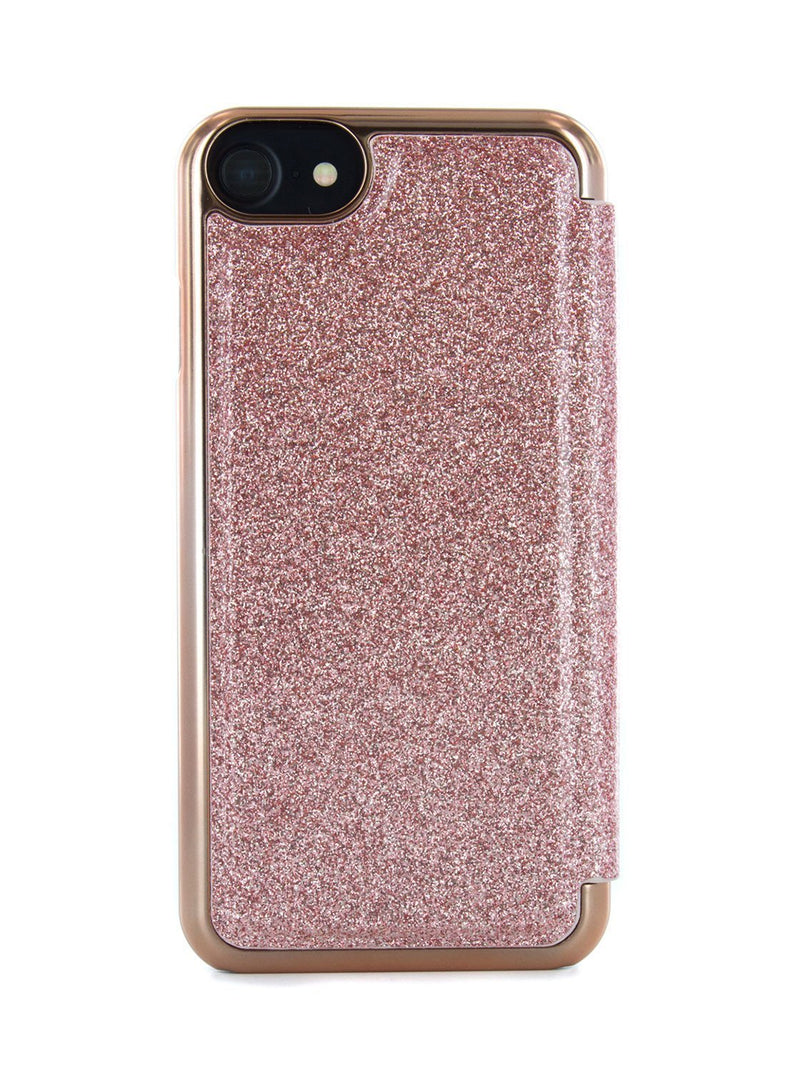 Back image of the Ted Baker Apple iPhone 8 / 7 / 6S phone case in Rose Gold
