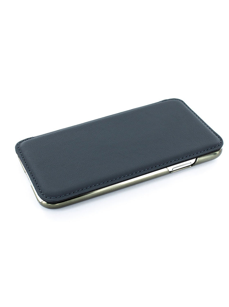 Face up image of the Greenwich Apple iPhone XR phone case in Seal Grey