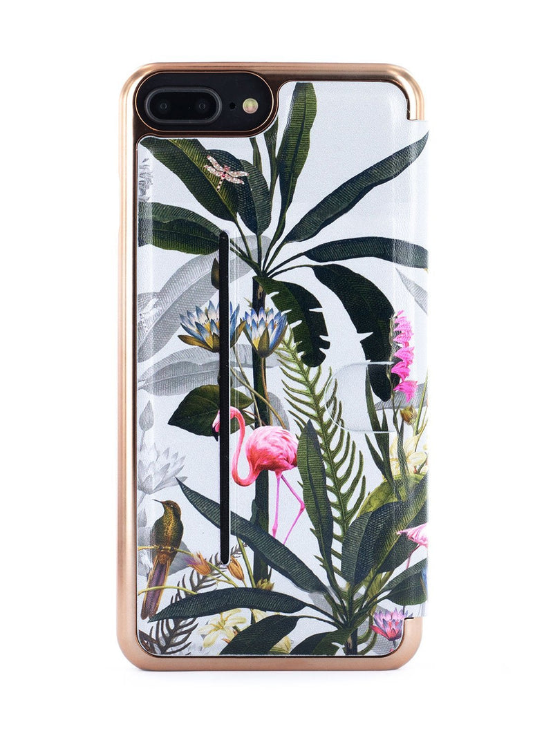 Back image of the Ted Baker Apple iPhone 8 Plus / 7 Plus phone case in Grey
