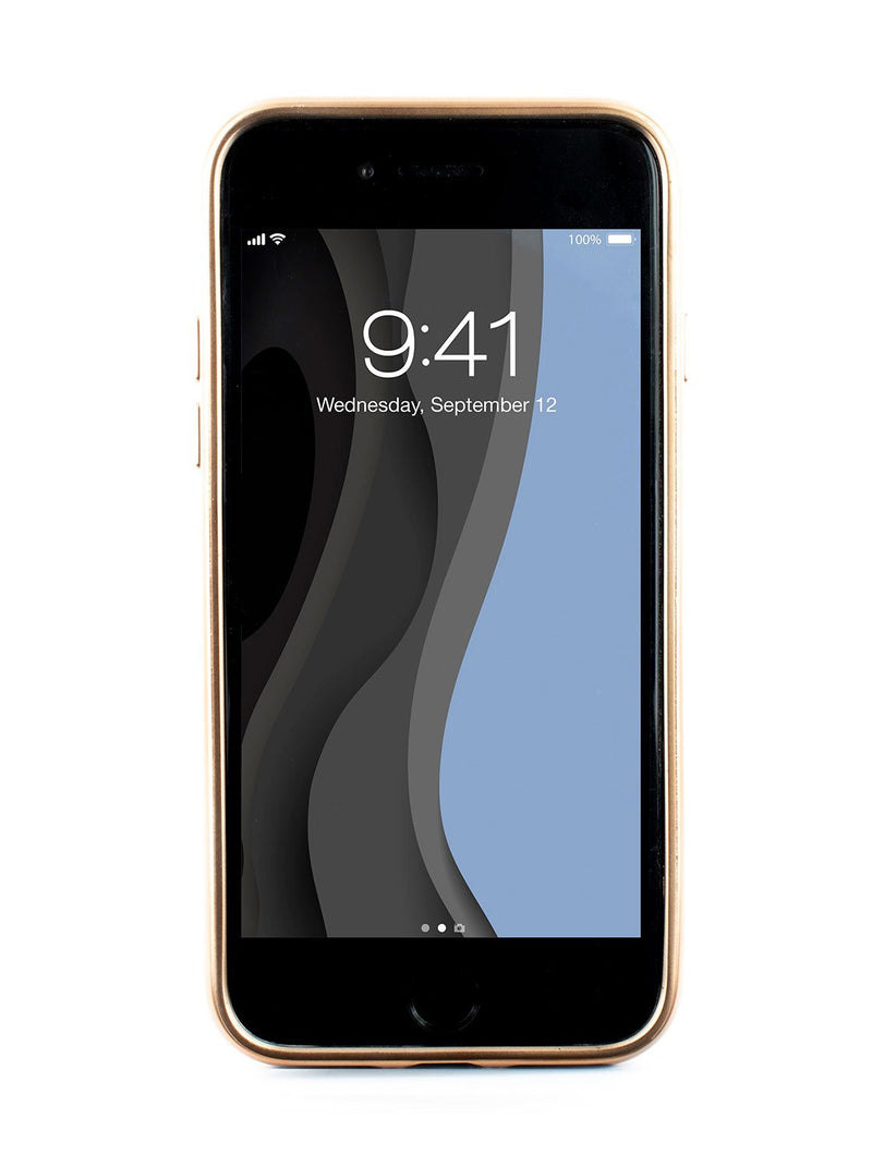Back image of the Ted Baker Apple iPhone 8 / 7 / 6S phone case in Black