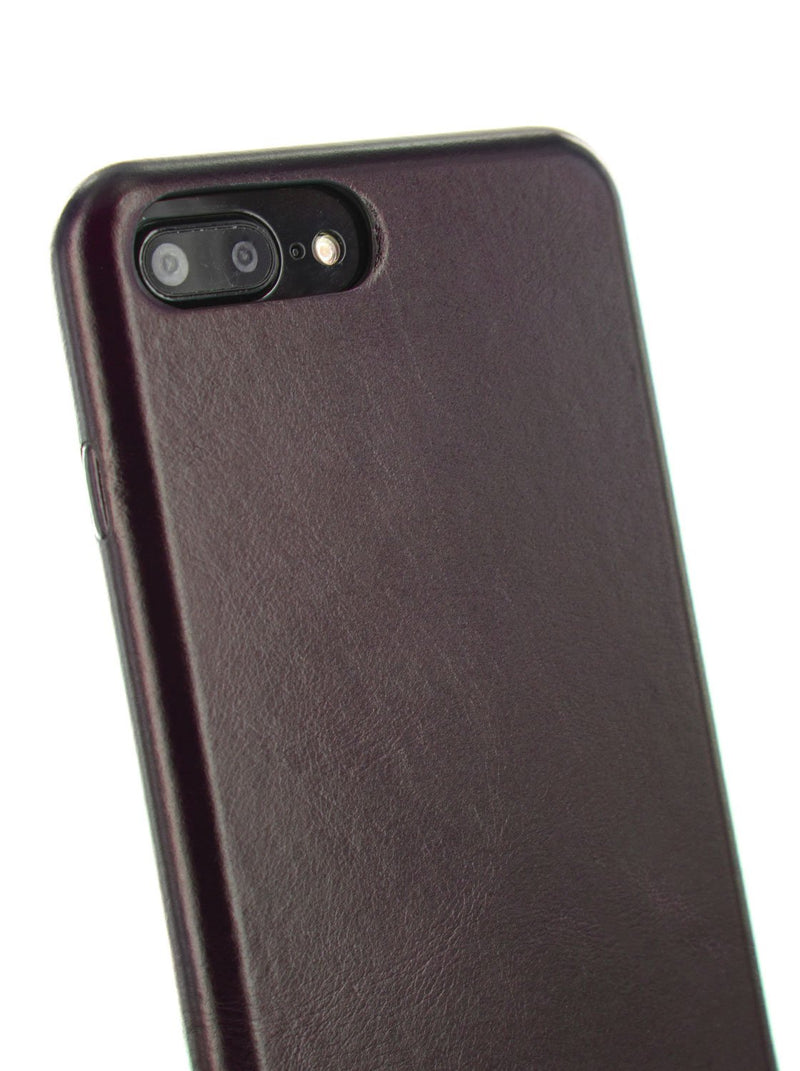 Detail image of the Ted Baker Apple iPhone 8 Plus / 7 Plus phone case in Dark Brown