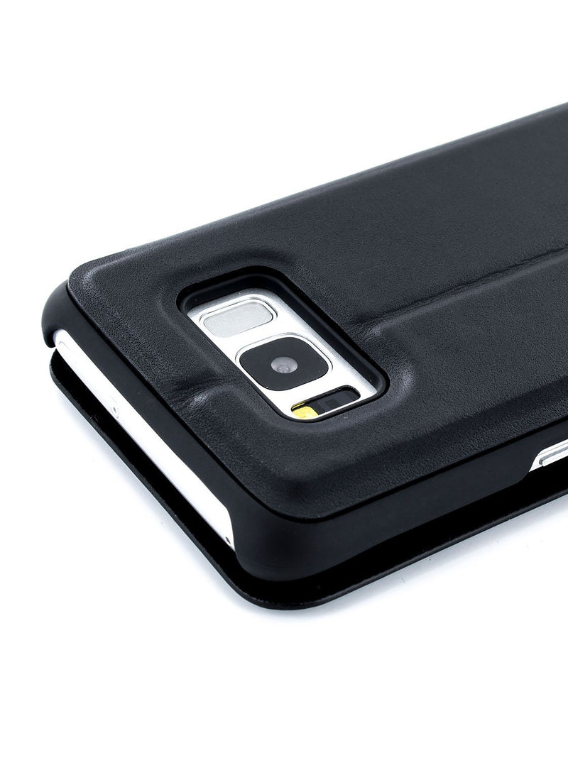 Detail image of the Proporta Samsung Galaxy S8 phone case in Black