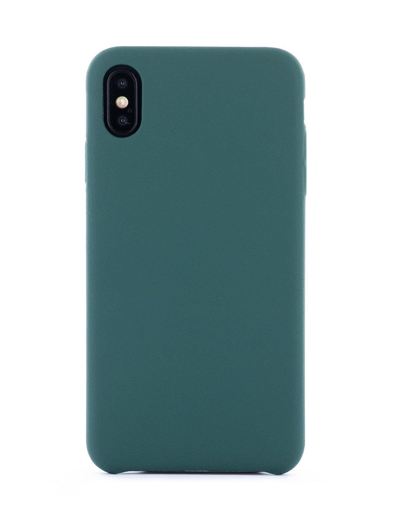 Hero image of the Greenwich Apple iPhone XS Max phone case in Emerald Green