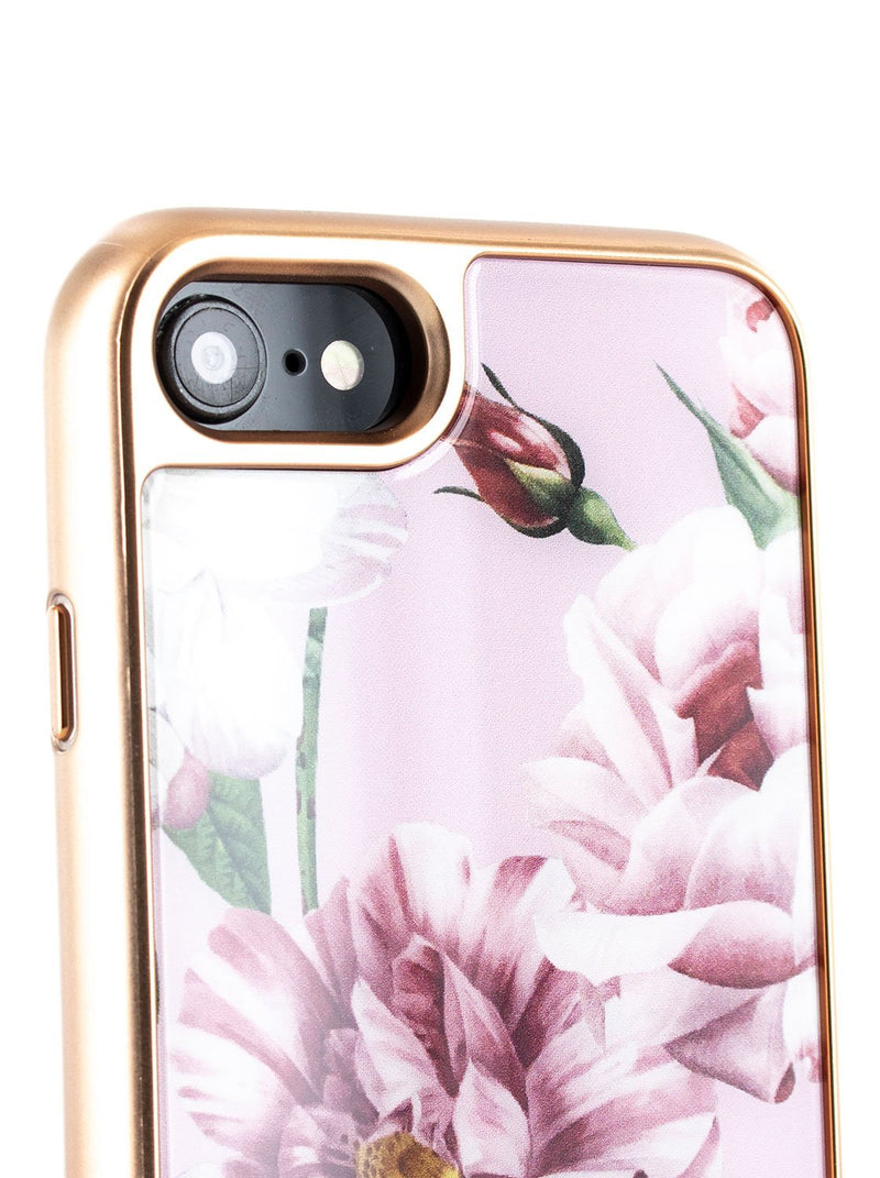 Detail image of the Ted Baker Apple iPhone 8 / 7 / 6S phone case in Pink