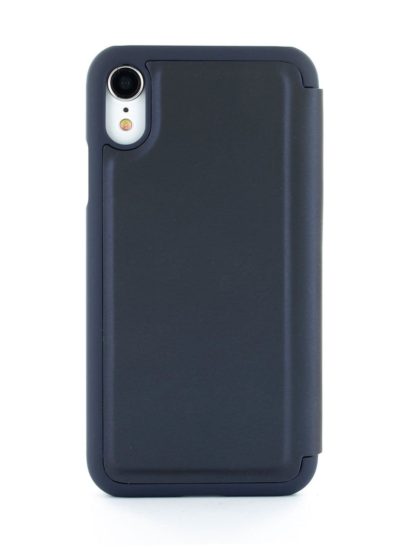 Back image of the Ted Baker Apple iPhone XR phone case in Navy Blue