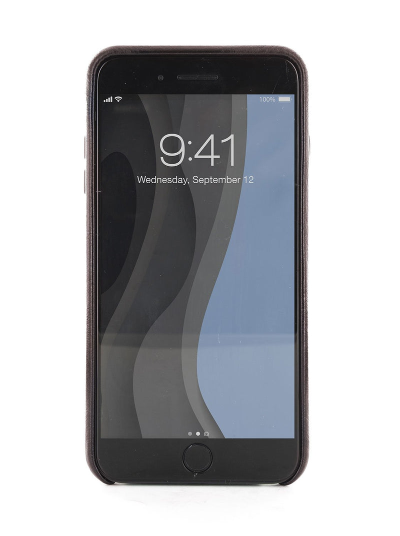 Front image of the Ted Baker Apple iPhone 8 / 7 / 6S phone case in Black
