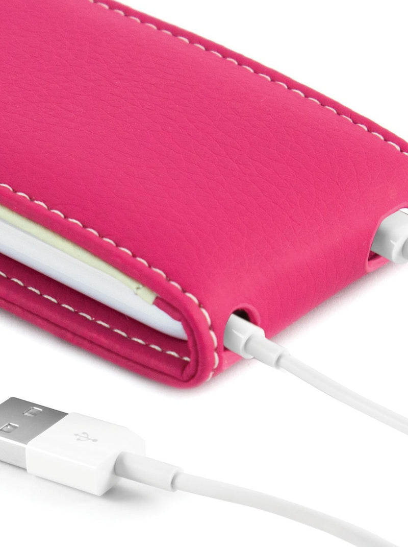 Close up image of the Proporta Apple iPod Nano 7G phone case in Pink