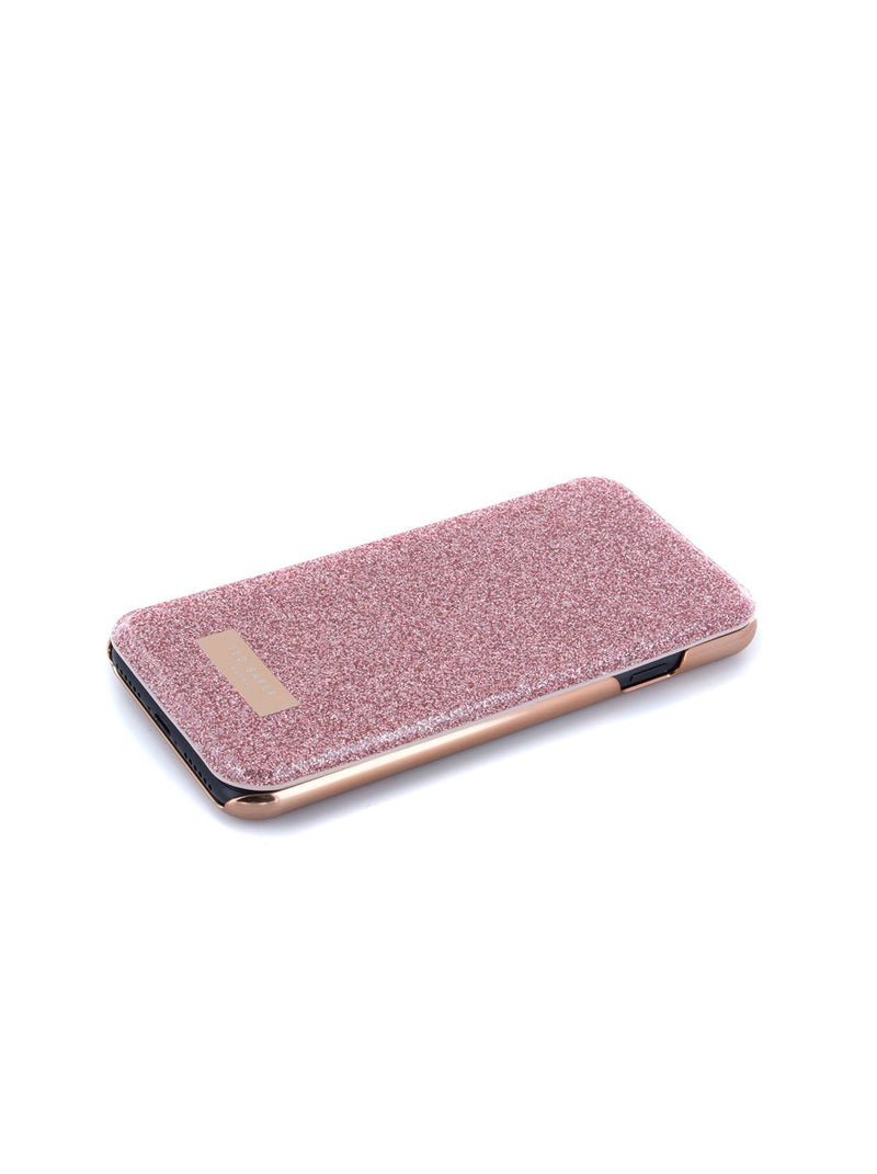 Face up image of the Ted Baker Apple iPhone 8 / 7 / 6S phone case in Rose Gold