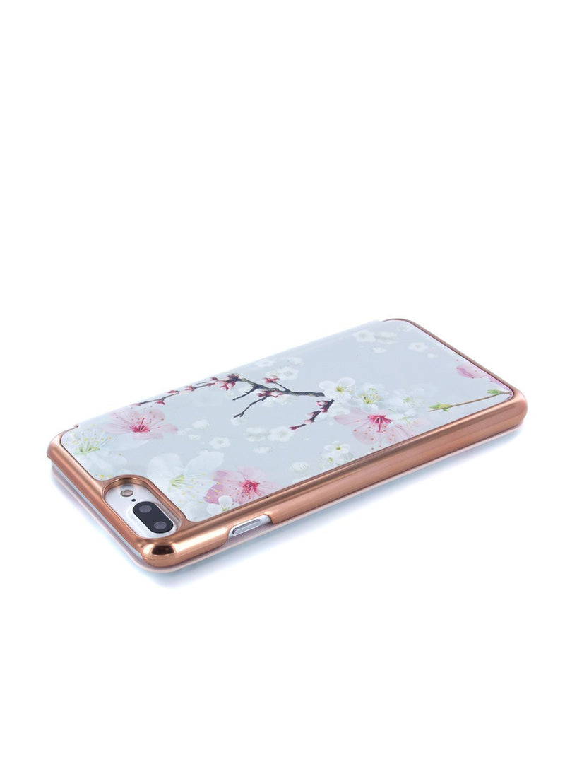 Face down image of the Ted Baker Apple iPhone 8 Plus / 7 Plus phone case in White