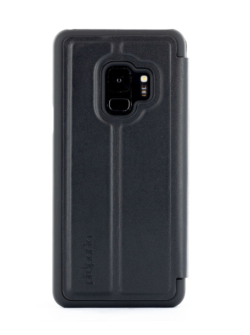 Back image of the Proporta Samsung Galaxy S9 phone case in Black
