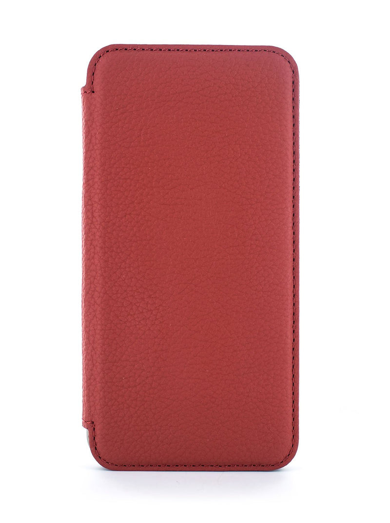 Hero image of the Greenwich Apple iPhone XR phone case in Scarlet Red