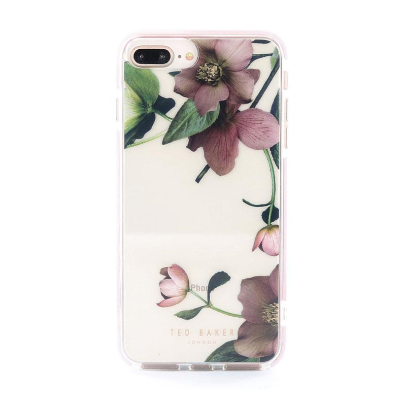 Hero image of the Ted Baker Apple iPhone 8 Plus / 7 Plus phone case in Clear Print