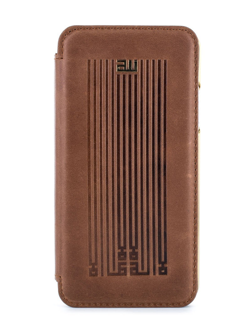 Hero image of the Greenwich Apple iPhone XS / X phone case in Brown