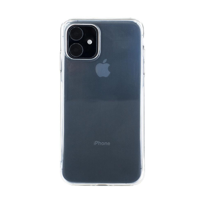 Back with device shot of the Proporta Apple iPhone 11 back shell in Clear