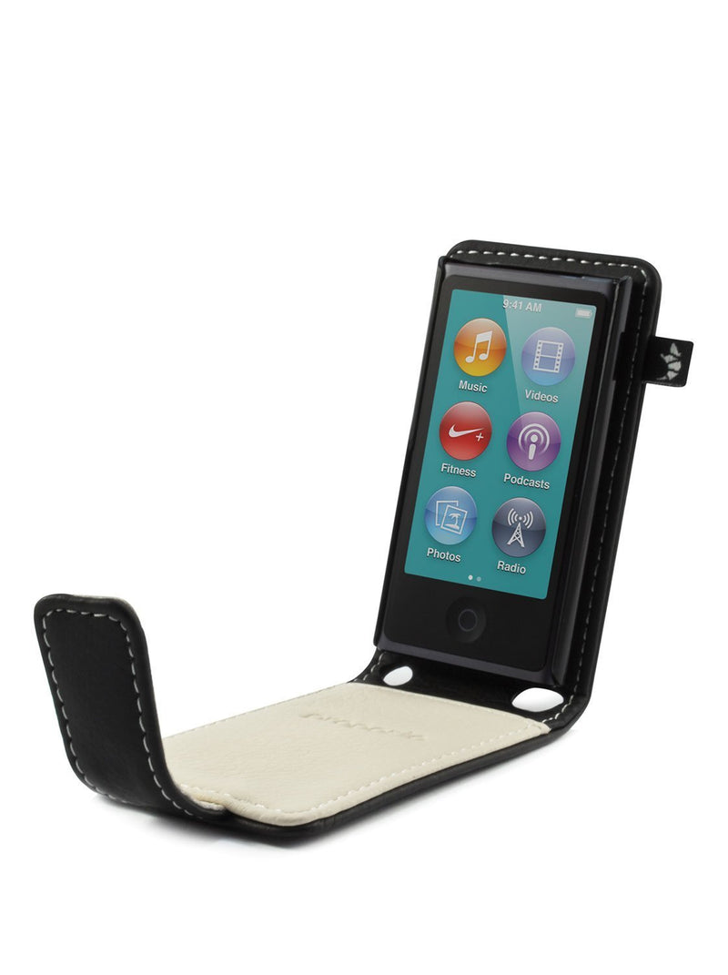 Side image of the Proporta Apple iPod Nano 7G phone case in Black