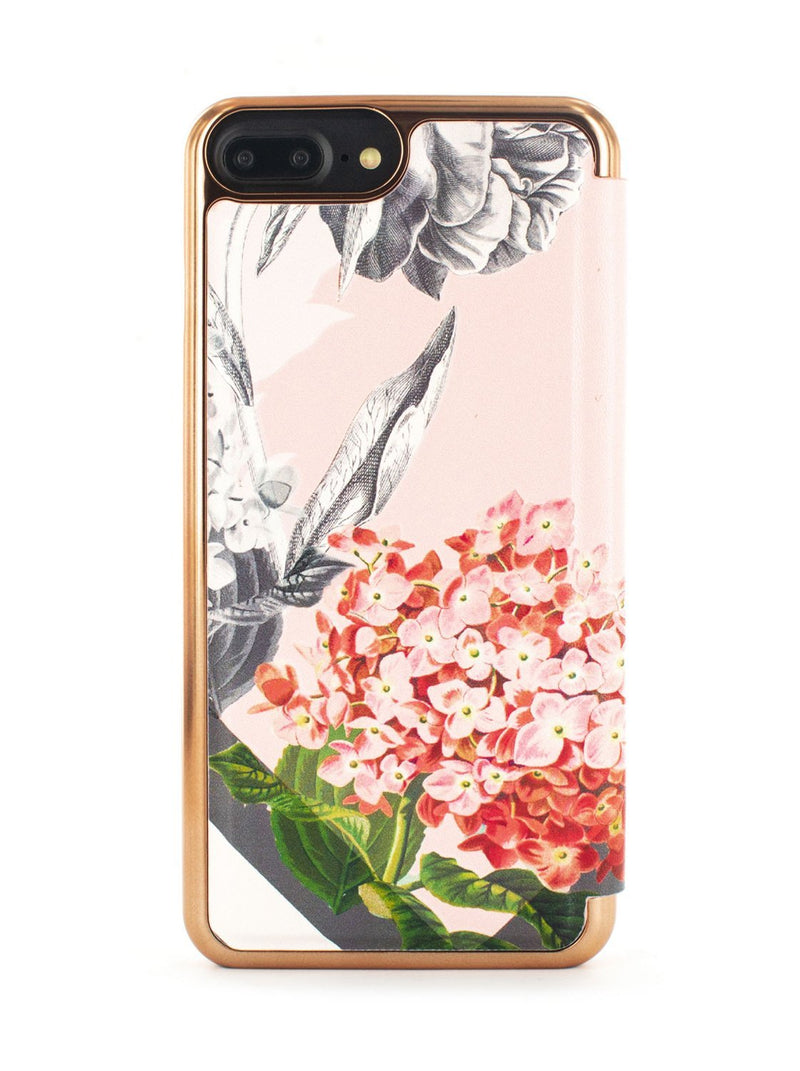 Back image of the Ted Baker Apple iPhone 8 Plus / 7 Plus phone case in Nude