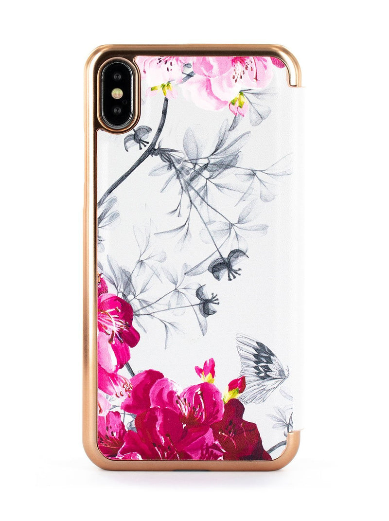 Back image of the Ted Baker Apple iPhone XS Max phone case in Babylon Nickel