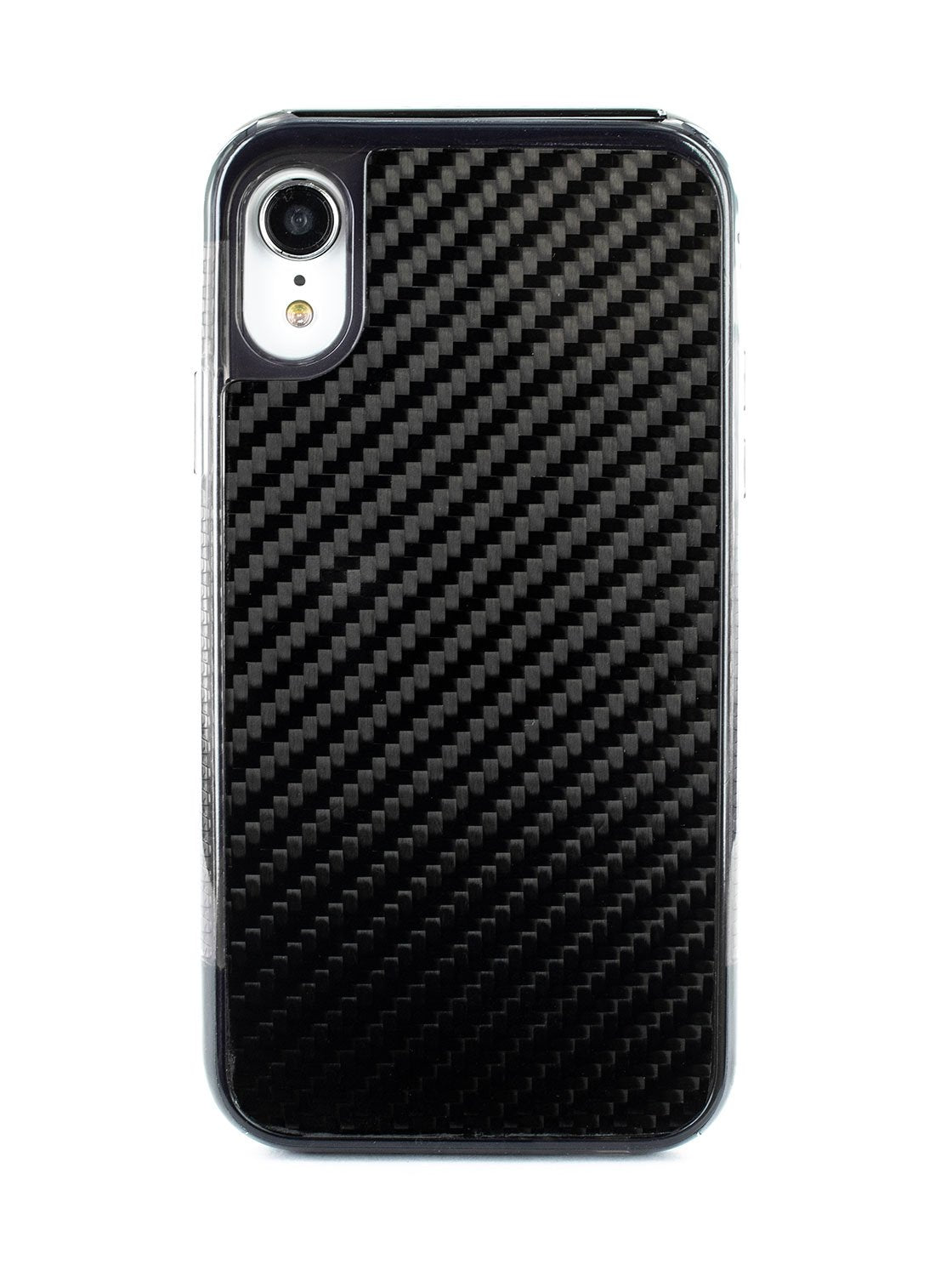 FLEX Anti Shock Kickstand Case for iPhone XR - Carbon Fibre