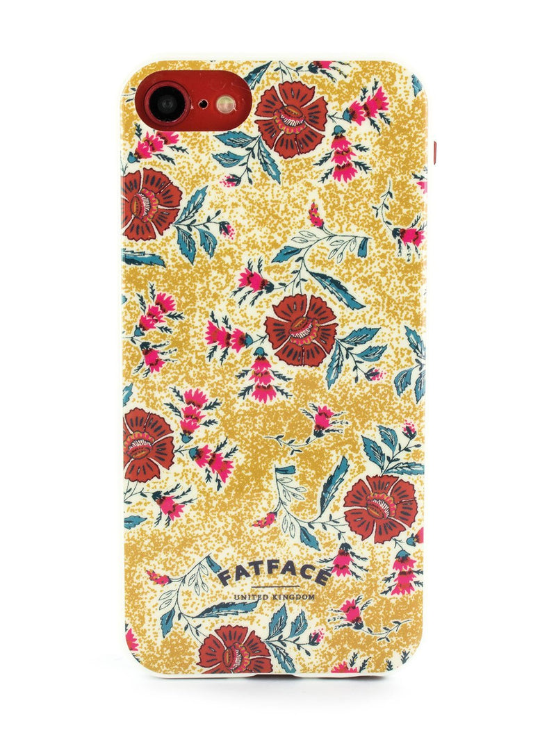 Hero image of the Fat Face Apple iPhone 8 / 7 / 6S phone case in Yellow