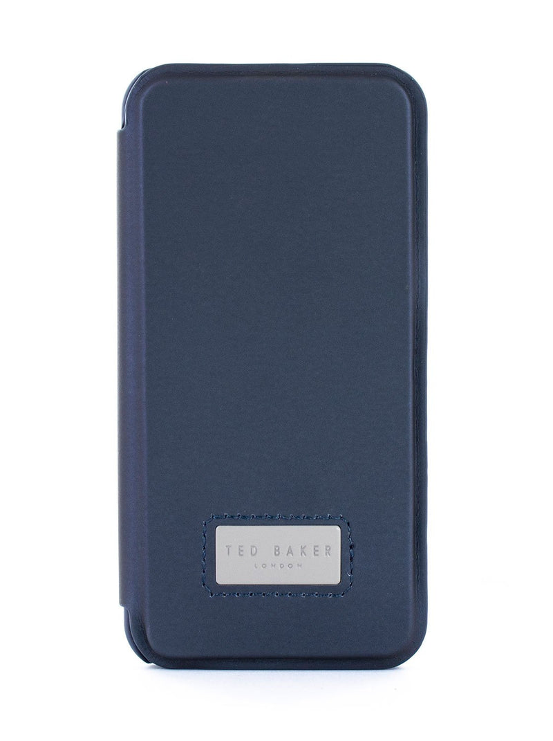 Hero image of the Ted Baker Apple iPhone XS Max phone case in Navy Blue