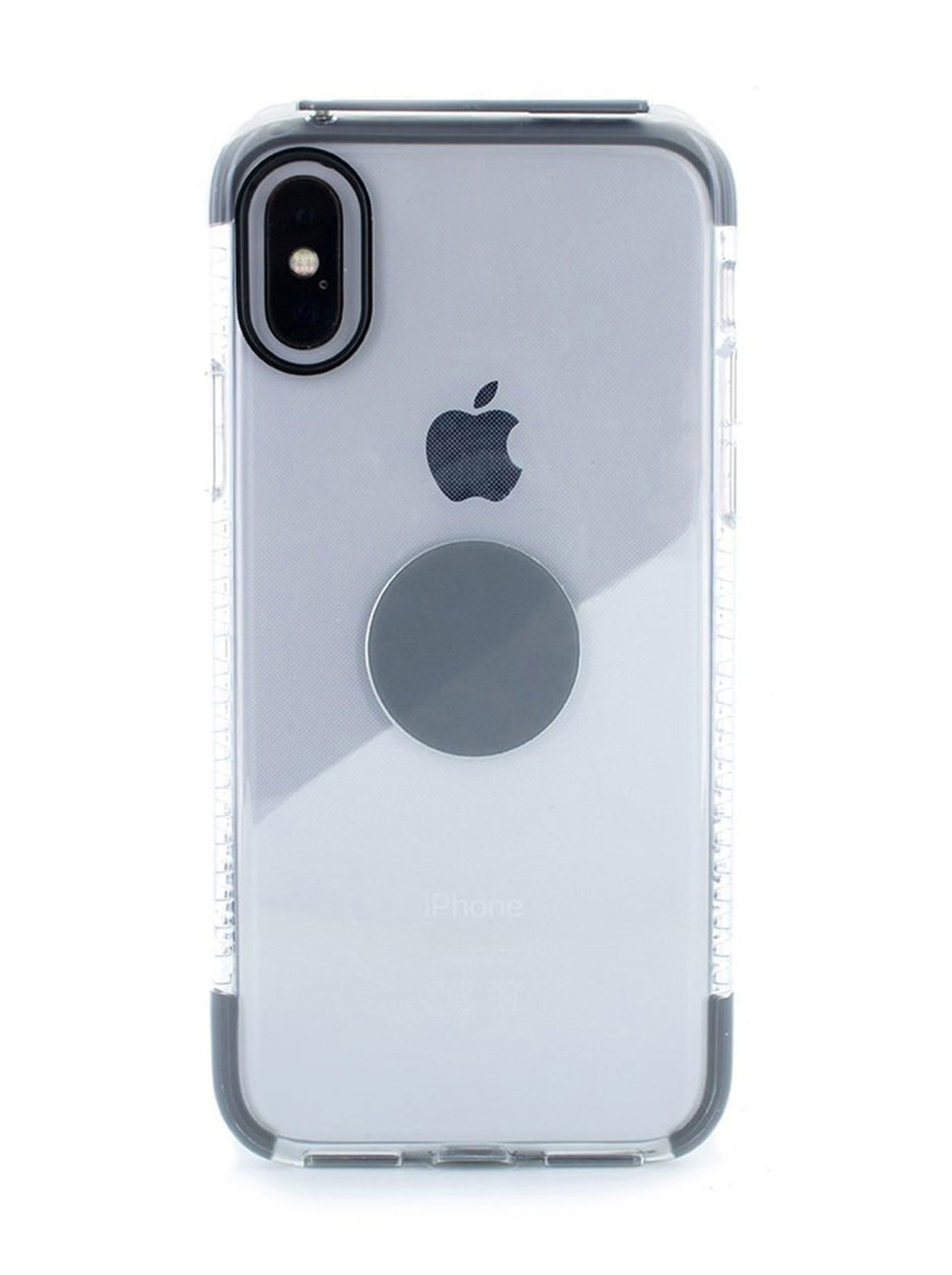 FLEX Anti Shock Kickstand Case for iPhone X / XS - Transparent