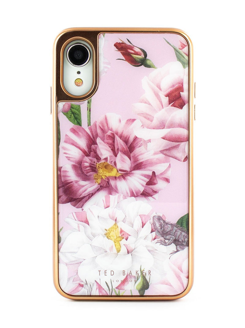Hero image of the Ted Baker Apple iPhone XR phone case in Pink