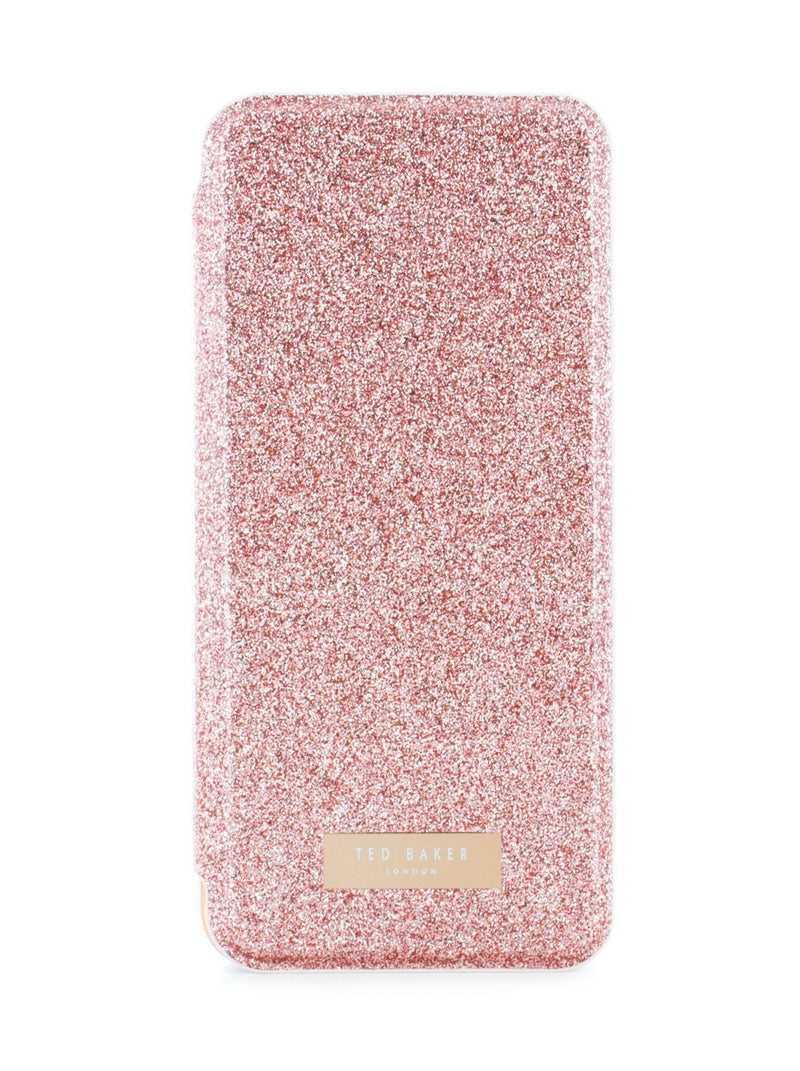 Hero image of the Ted Baker Samsung Galaxy S8 phone case in Rose Gold