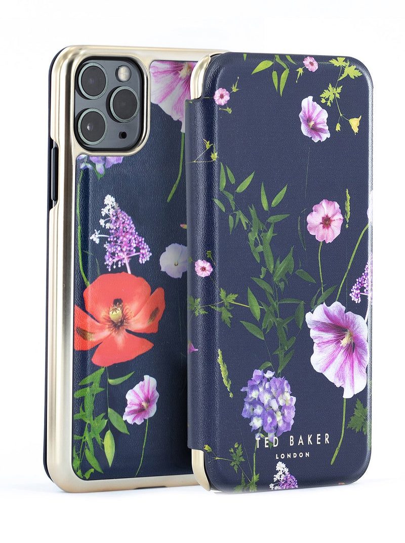 Ted Baker Book Case for iPhone 11 Pro Max - Hedgerow