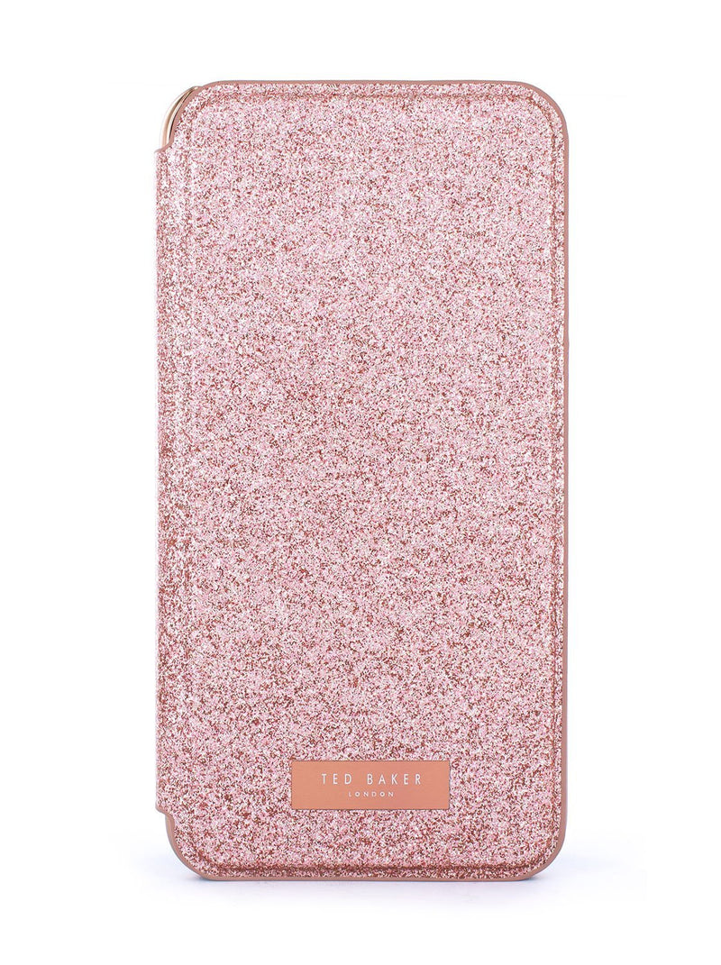 Hero image of the Ted Baker Apple iPhone XR phone case in Rose Gold