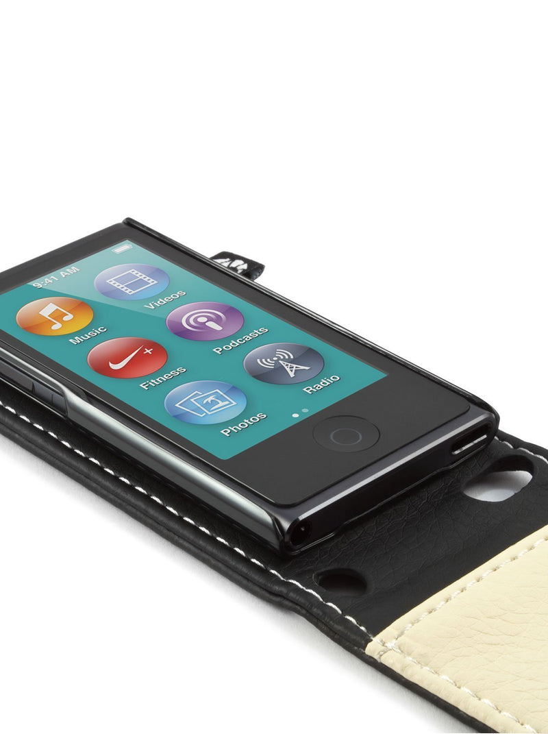 Detail image of the Proporta Apple iPod Nano 7G phone case in Black