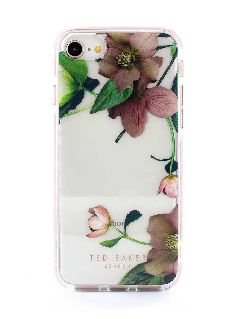 Hero image of the Ted Baker Apple iPhone 8 / 7 / 6S phone case in Clear Print
