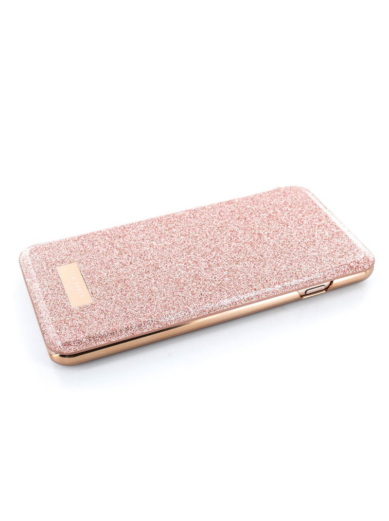 Face up image of the Ted Baker Apple iPhone 8 Plus / 7 Plus phone case in Rose Gold