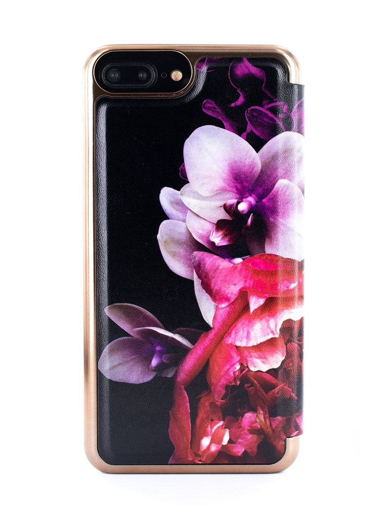 Back image of the Ted Baker Apple iPhone 8 Plus / 7 Plus phone case in Black