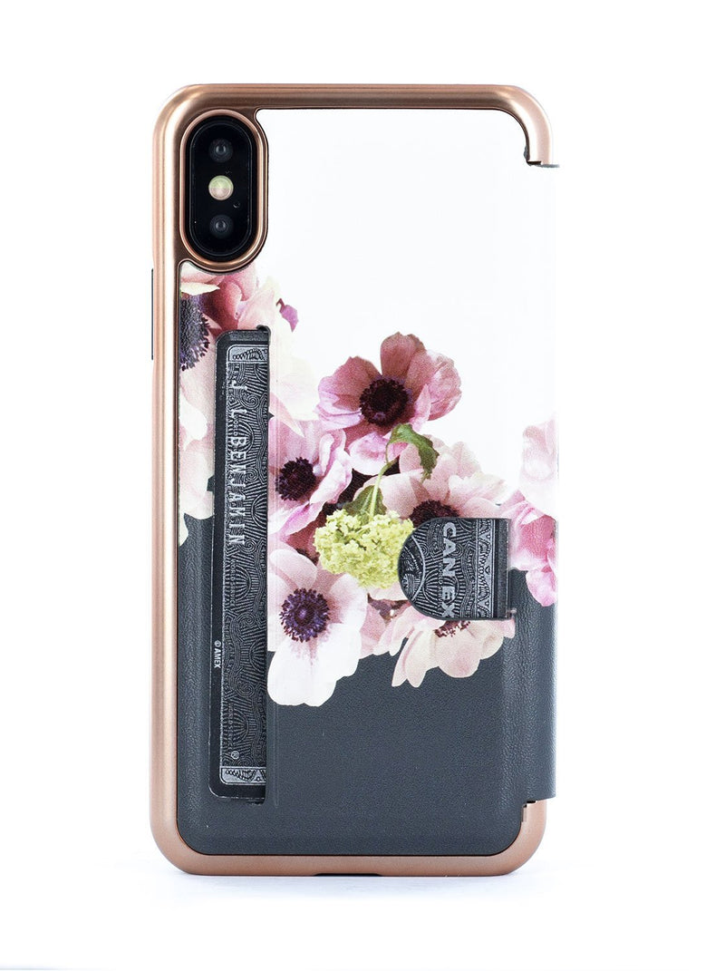 Back image of the Ted Baker Apple iPhone XS / X phone case in White