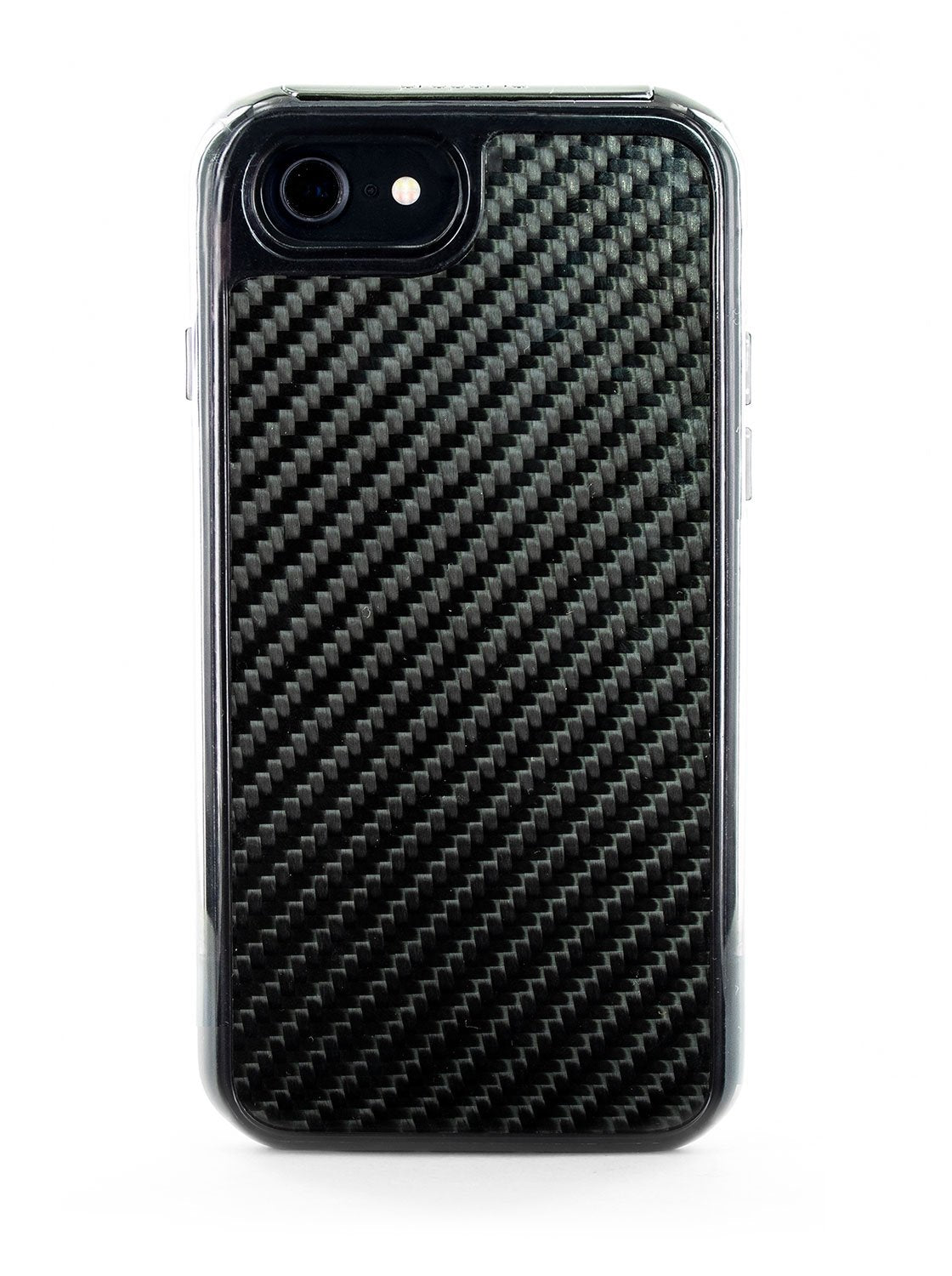 FLEX Anti Shock Kickstand Case for iPhone SE (2020) / 8 / 7 - Carbon Fibre