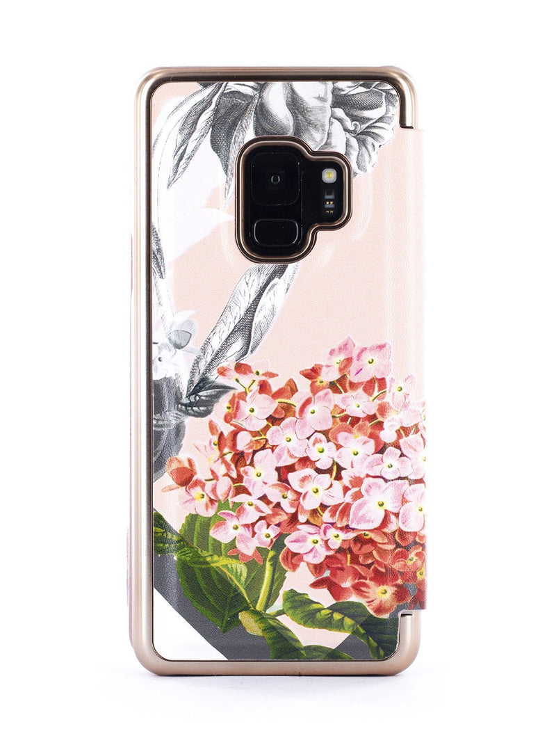 Back image of the Ted Baker Samsung Galaxy S9 phone case in Nude