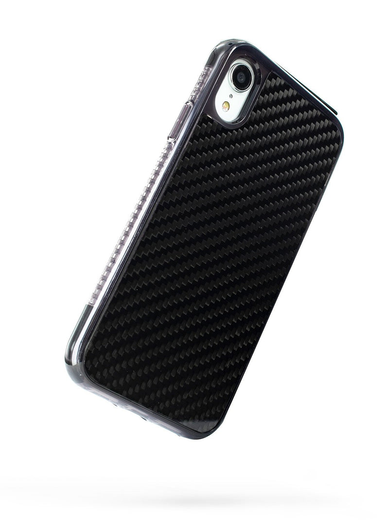 Back image of the Proporta Apple iPhone XR phone case in Black