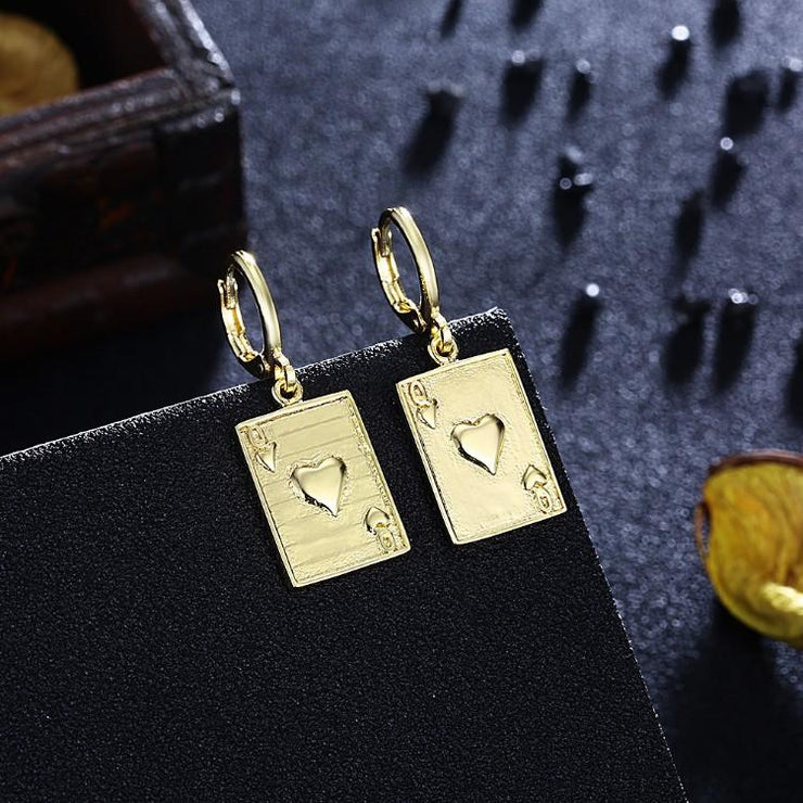 Queen of Hearts Drop Earrings