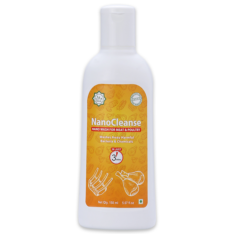 NanoCleanse 150 ml Meat & Poultry Wash