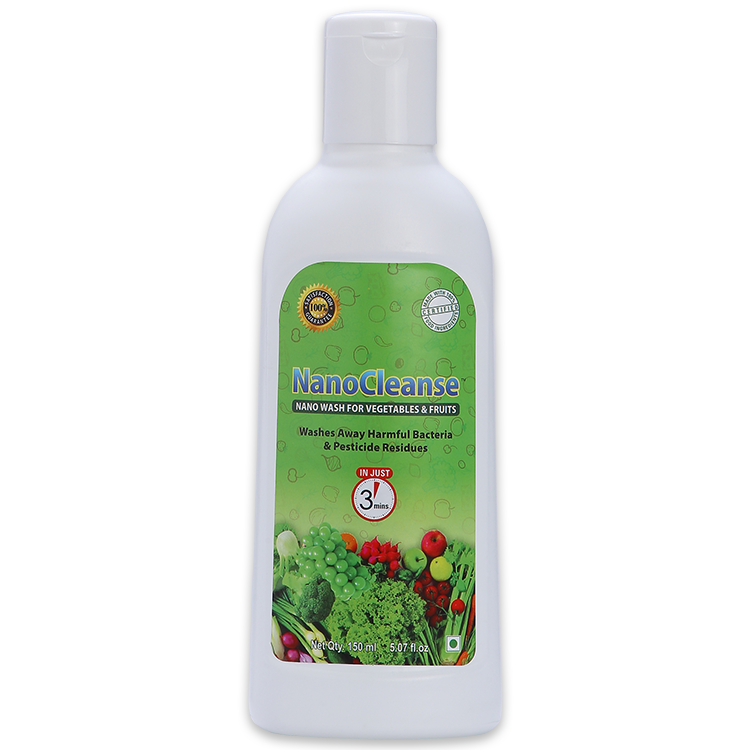 NanoCleanse 150 ml Veggie & Fruit Wash